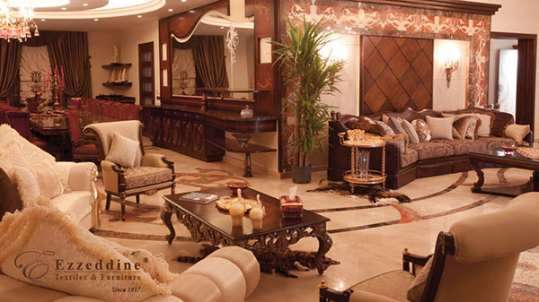 Home Image 6 - Ezzeddine , Neo Classical , Furniture Stores , Textile Stores , modern furniture , interior architect , in Beirut - Lebanon - Jordan