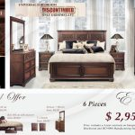 Limited Time Offer - Bedroom - Hurry ! Only 6 rooms remaining - Your price: $2,950 - 6 Piece Set bedroom ... Includes 240x240 closet !