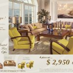 Limited Time Offer - Living Room - Only $2,950 - 4 Piece Set Living Room