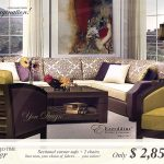 Limited Time Offer - Living Room - Hermitage Offer - Only $2,850 - Sectional Corner Sofa + 2 Chairs